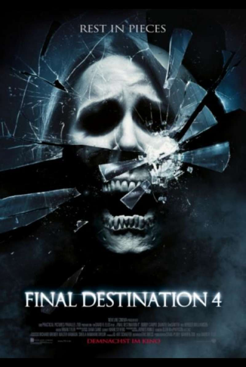 Final Destination 4 - Filmplakat