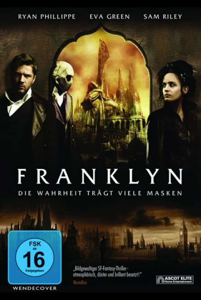 Franklyn - DVD-Cover