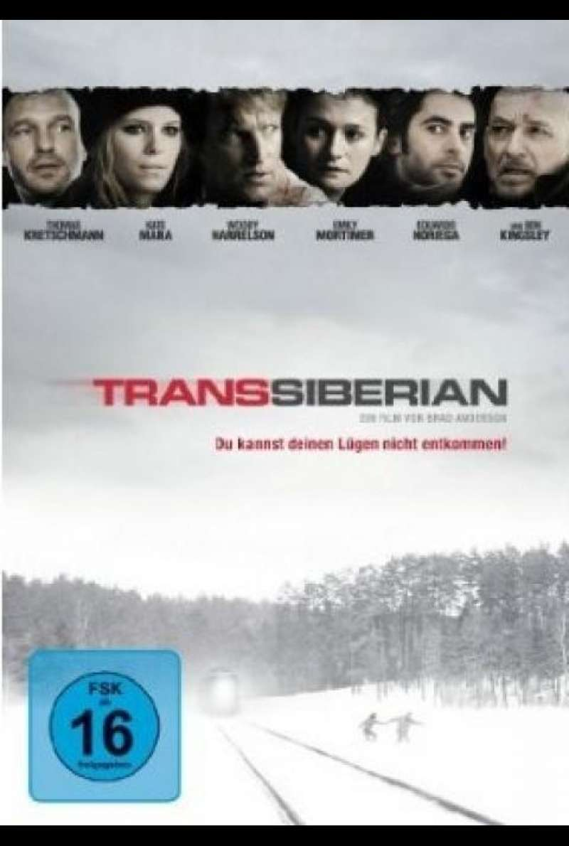 Transsiberian - DVD-Cover