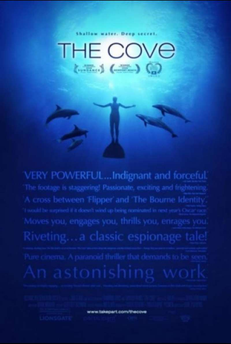 Die Bucht - The Cove - Filmplakat (US)