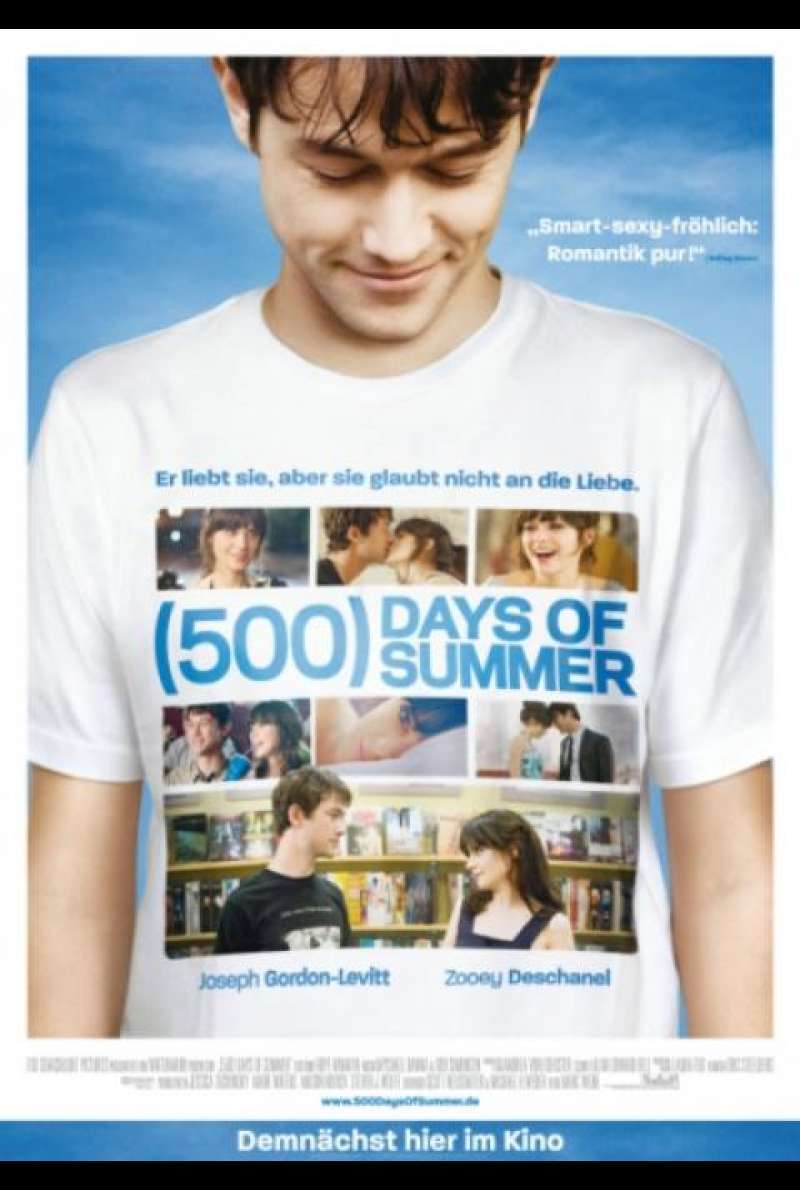 (500) Days of Summer - Filmplakat