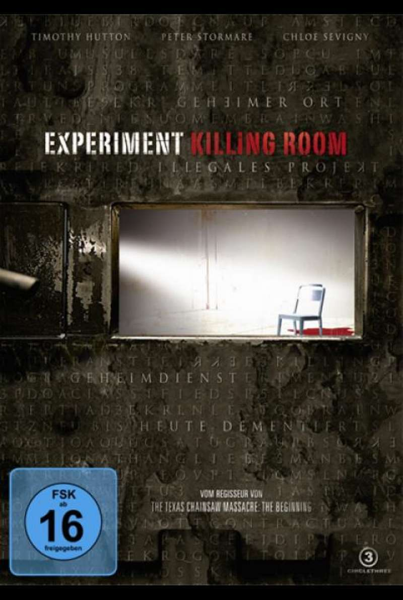 Experiment Killing Room - DVD-Cover