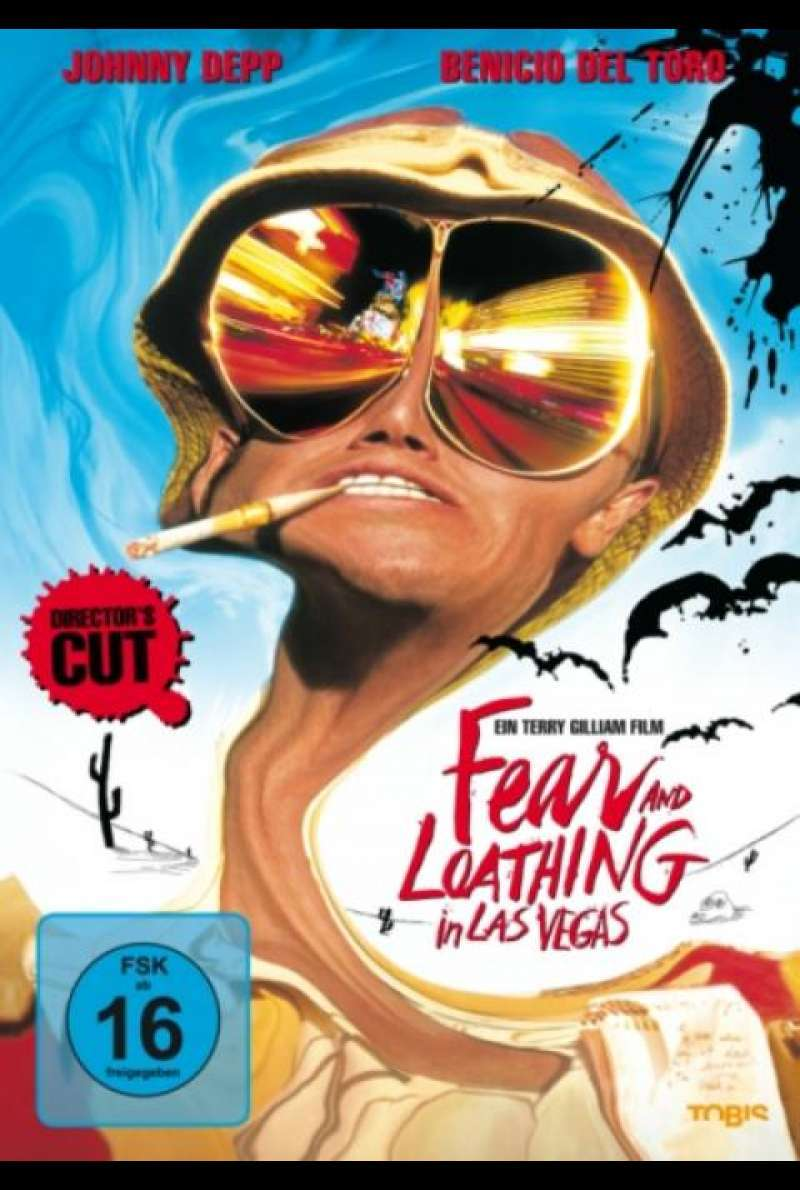 Fear and Loathing in Las Vegas - DVD-Cover