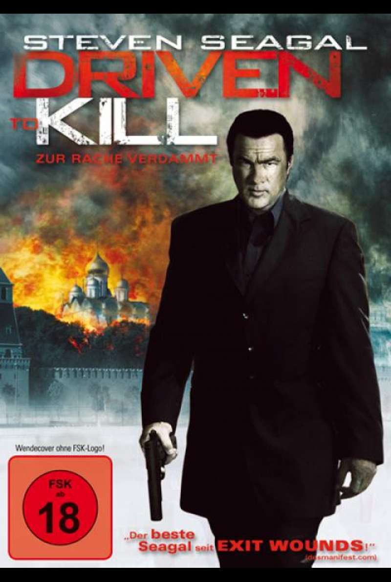 Driven to Kill - DVD-Cover