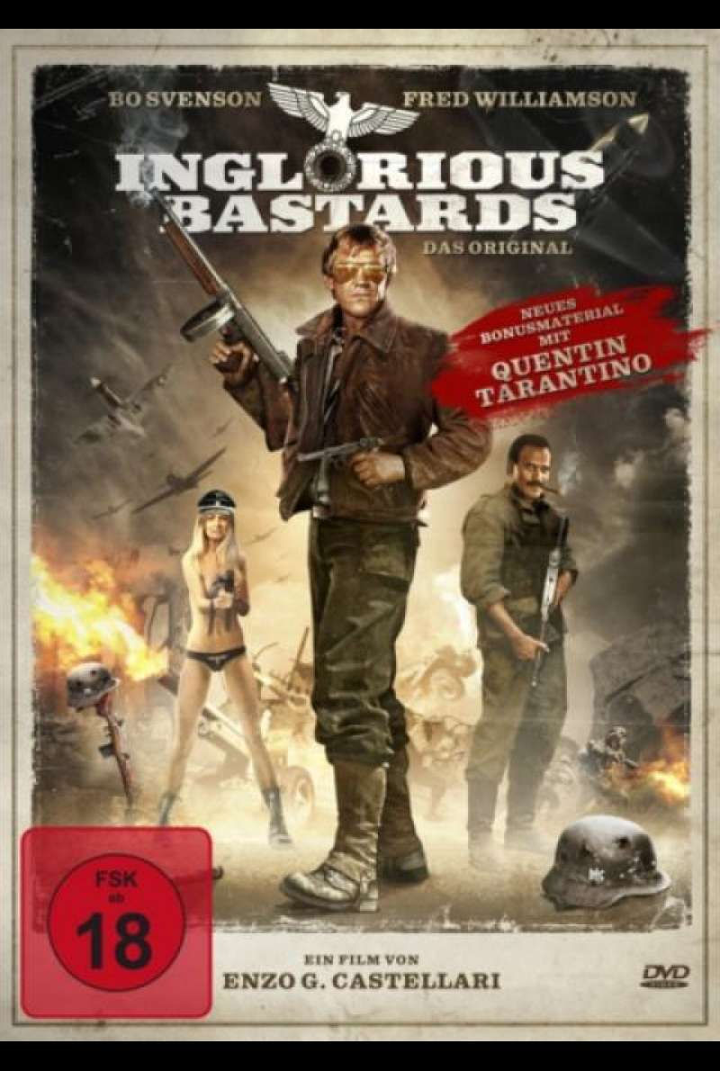 Inglourious Bastards - Das Original - DVD-Cover
