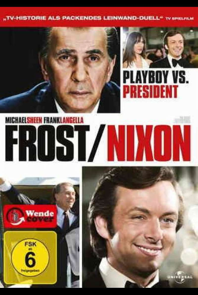 Frost / Nixon - DVD-Cover