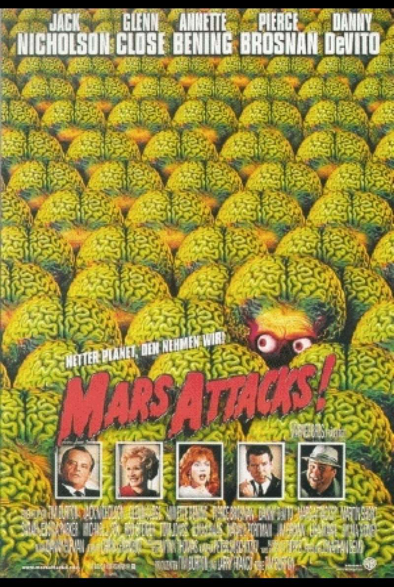Mars Attacks - Filmplakat