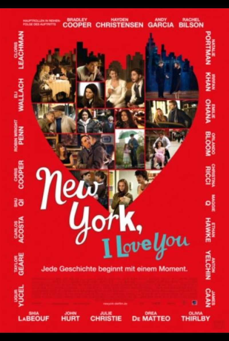 New York, I love you - Filmplakat