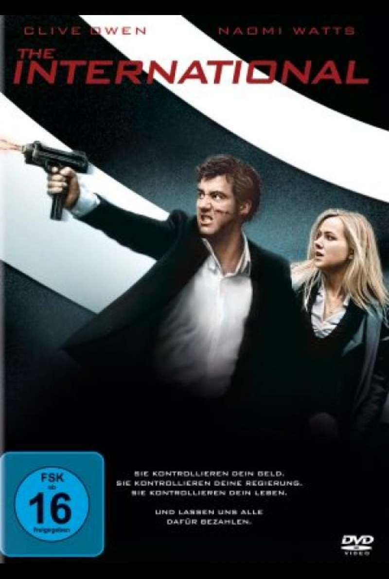 The International - DVD-Cover