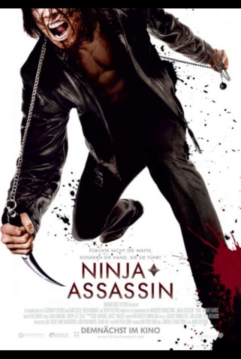Ninja Assassin - Filmplakat