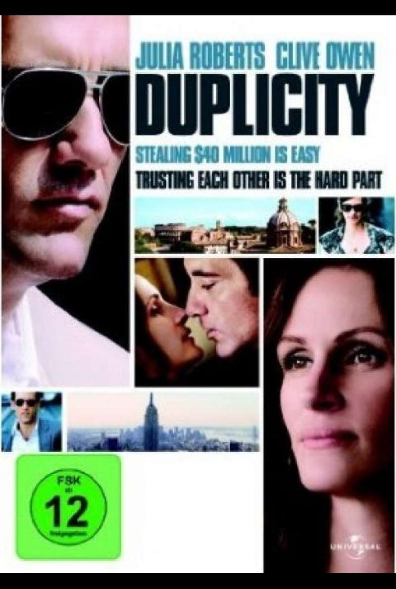 Duplicity - DVD-Cover