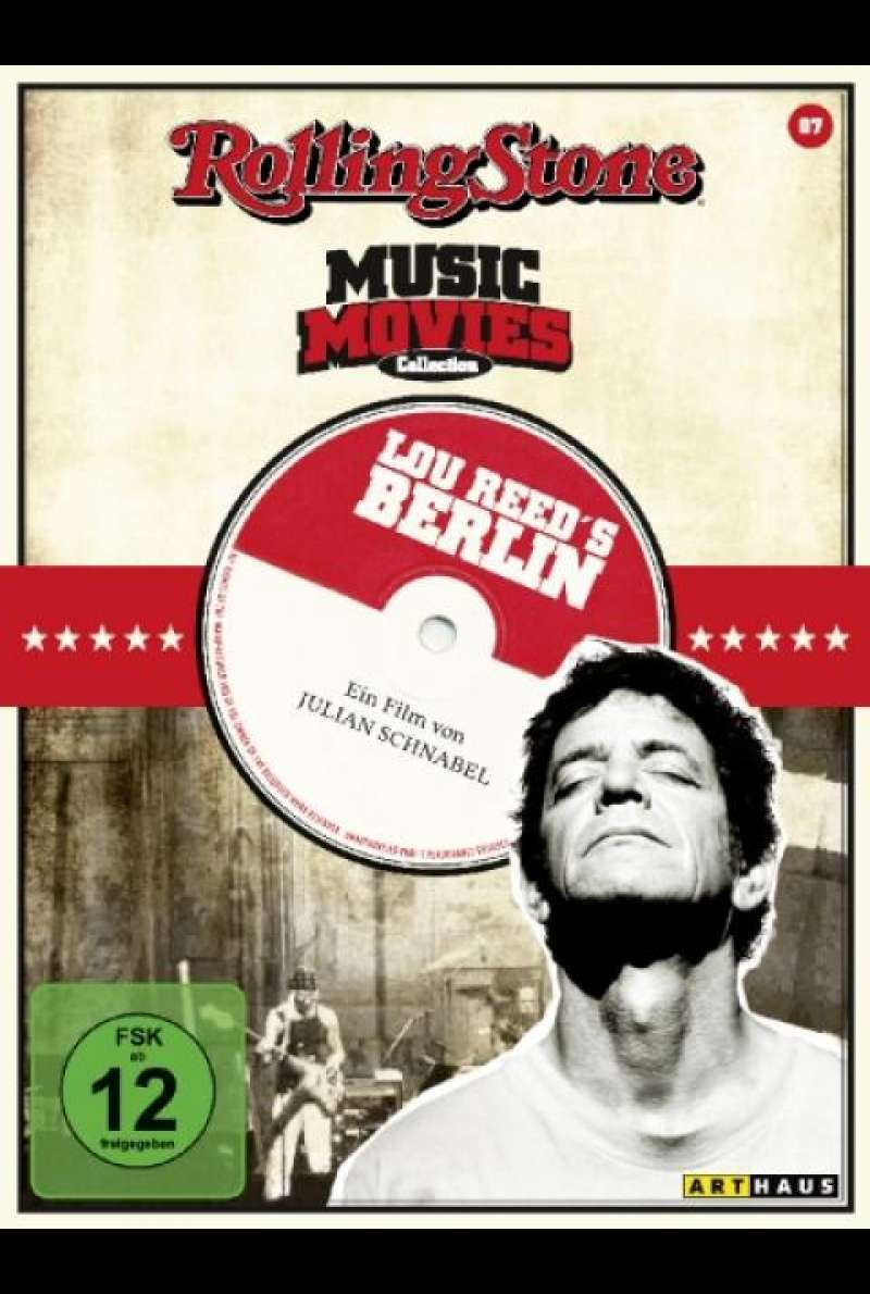 Lou Reed's Berlin (RSMC) - DVD-Cover