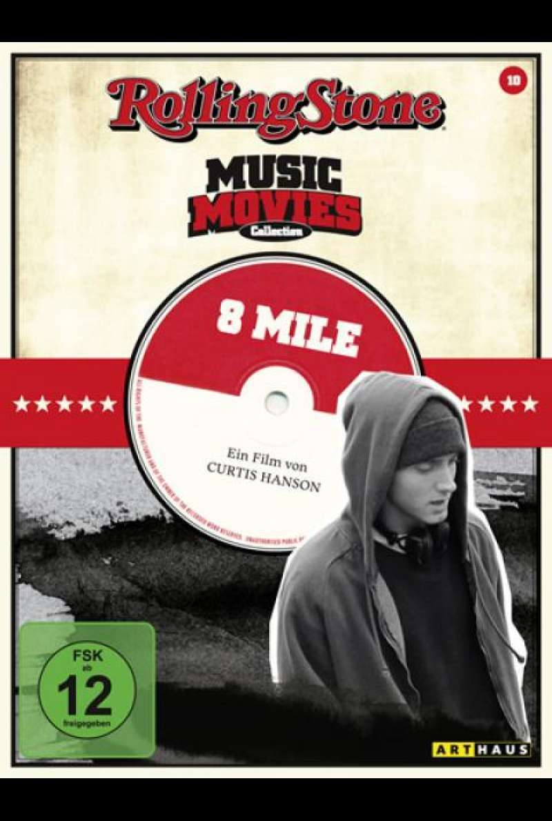 8 Mile - DVD-Cover