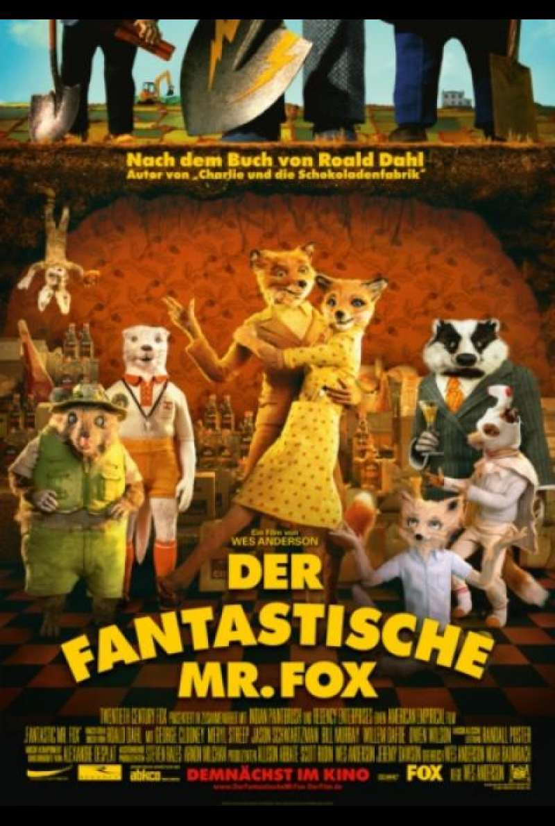 Der fantastische Mr. Fox - Filmplakat