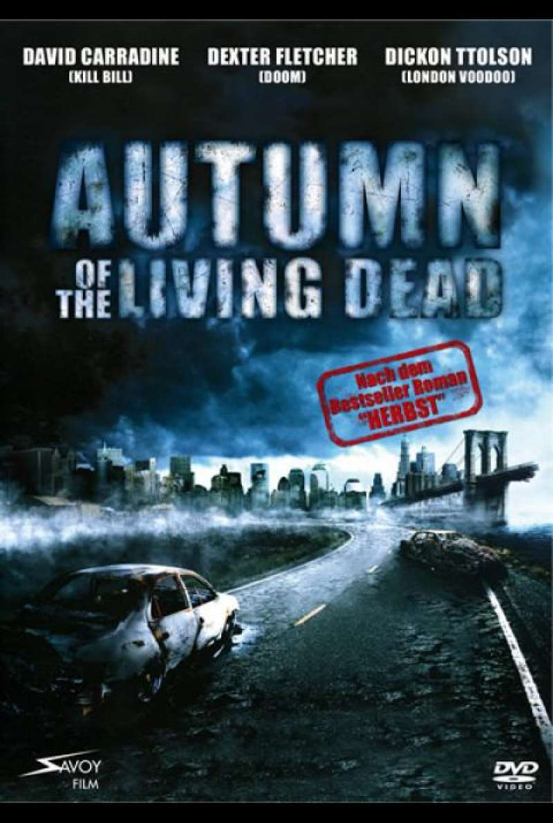 Autumn of the Living Dead - DVD-Cover