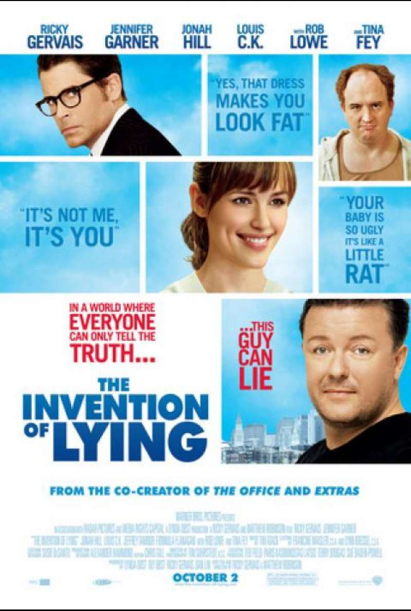 The Invention of Lying - Filmplakat (US)