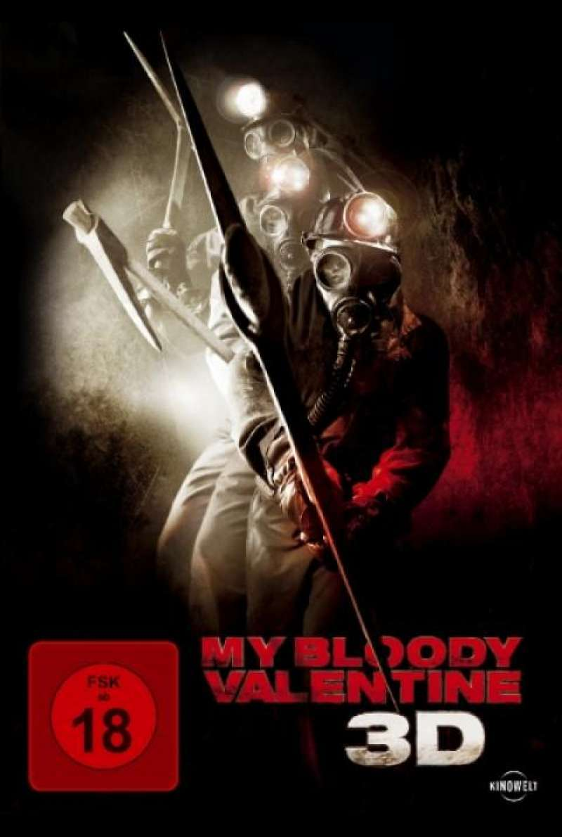 My Blood Valentine 3D - DVD-Cover