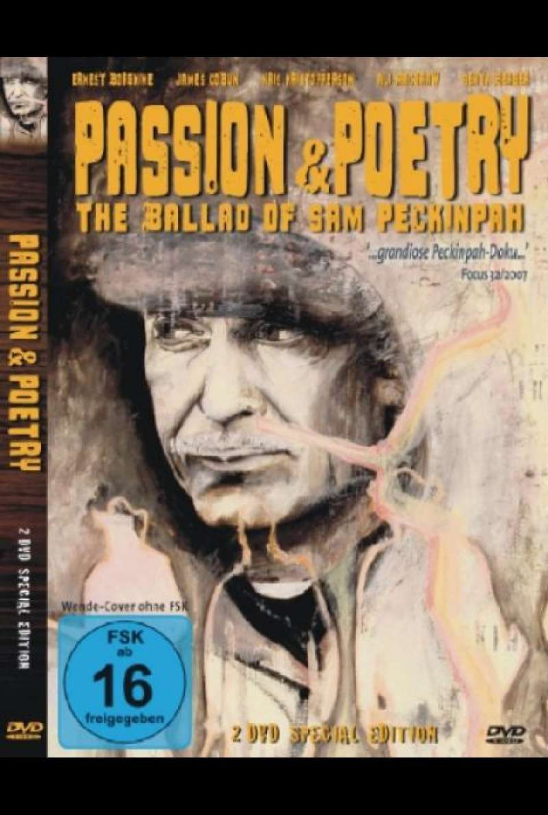 Passion & Poetry - The Ballad Of Sam Peckinpah - DVD-Cover