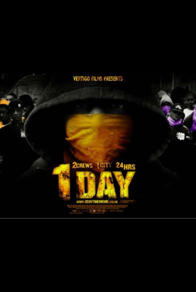 1 Day - Filmplakat (GB)