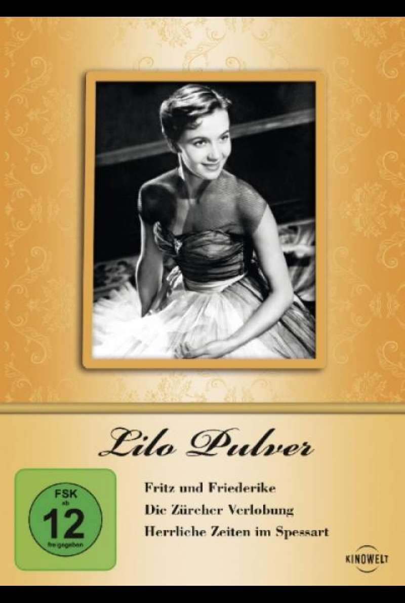 Lilo Pulver Edition - DVD-Cover