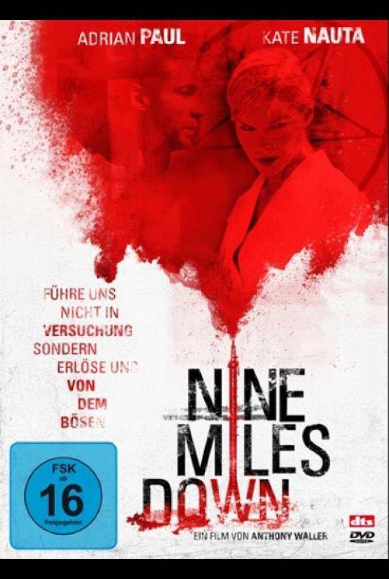Nine Miles Down - DVD-Cover