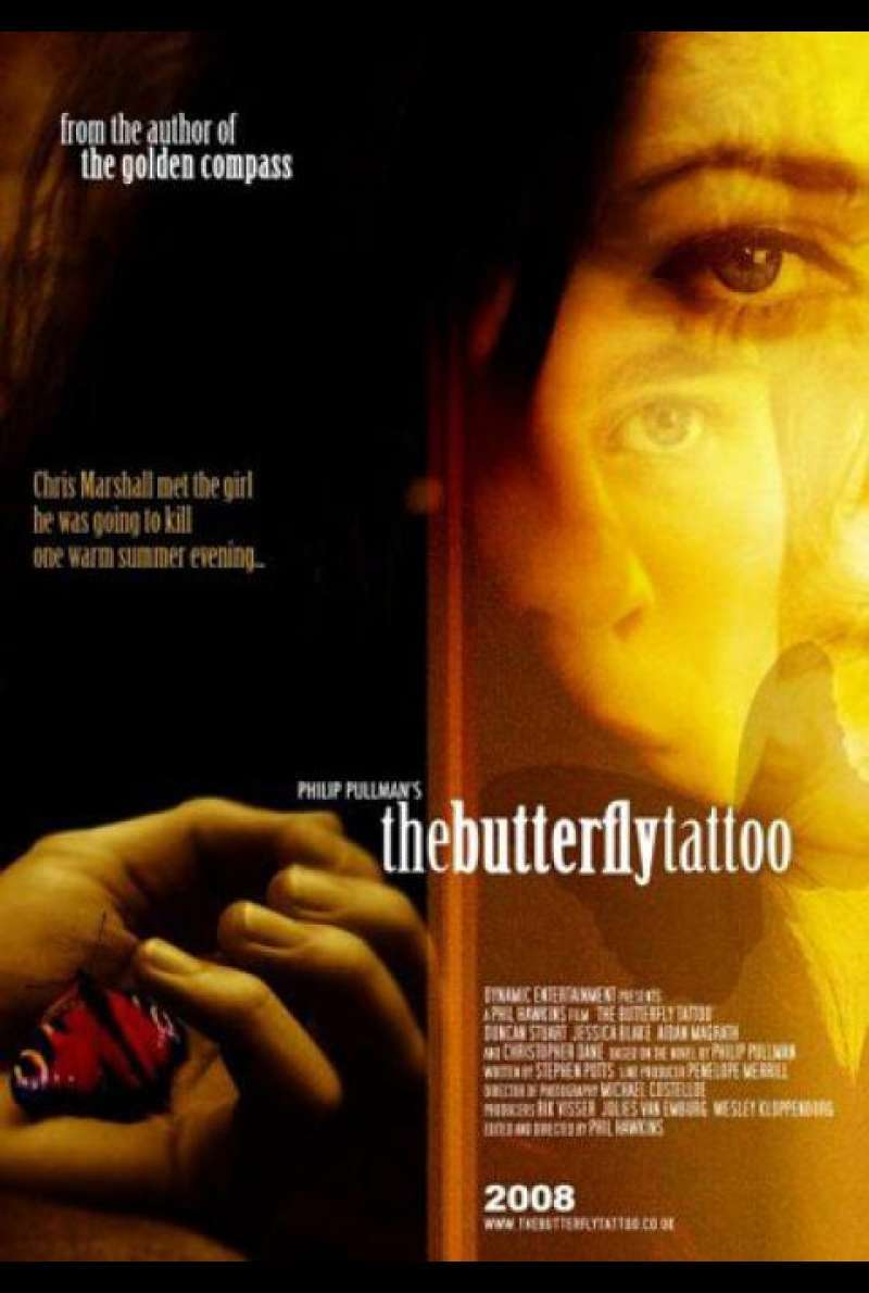 The Butterfly Tattoo - Filmplakat (GB)