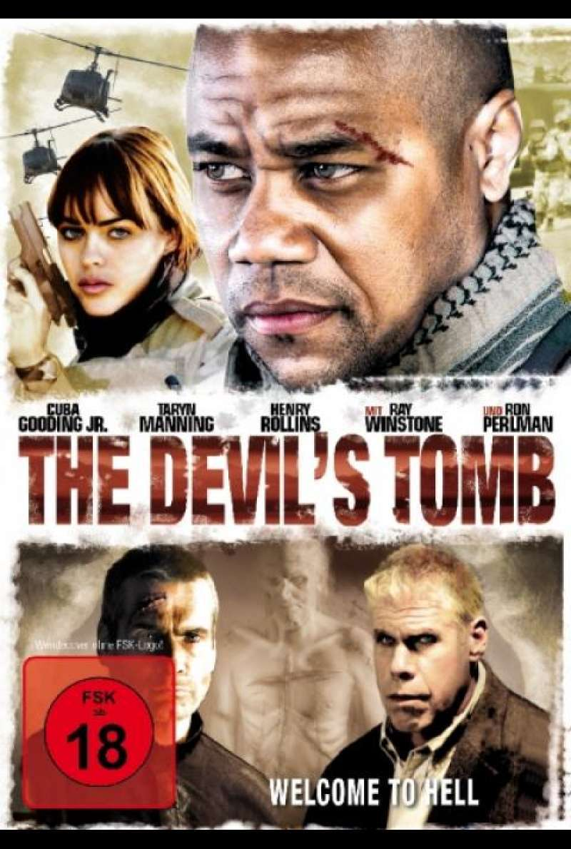 The Devil's Tomb - DVD-Cover