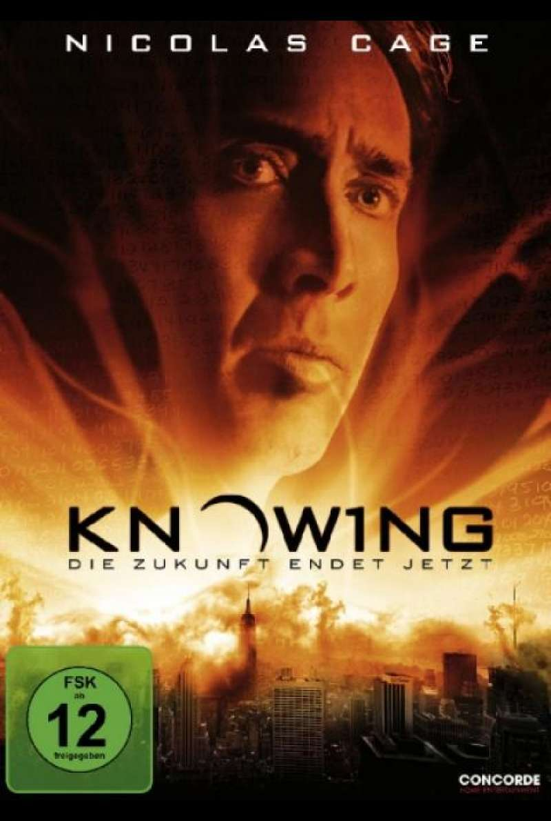 Knowing - DVD-Cover