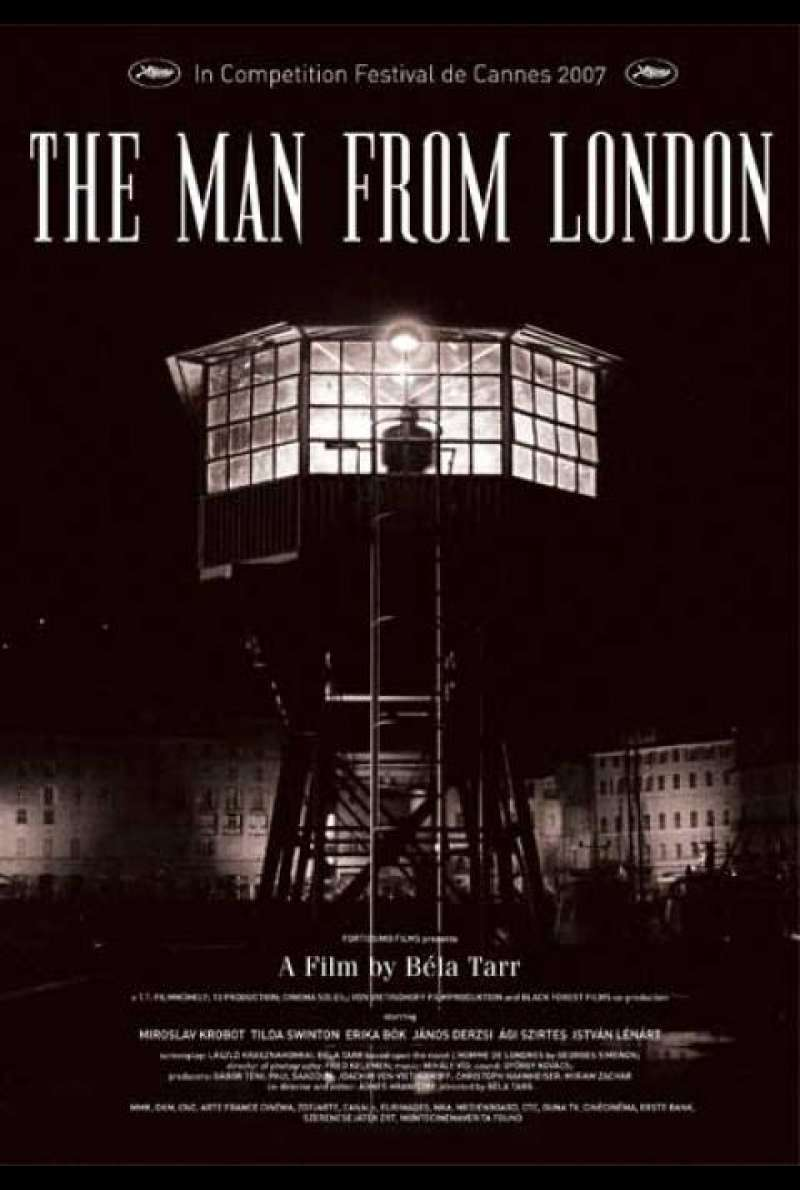 The Man From London - Filmplakat