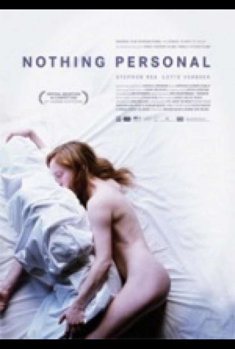 Nothing Personal - Filmplakat (GB)