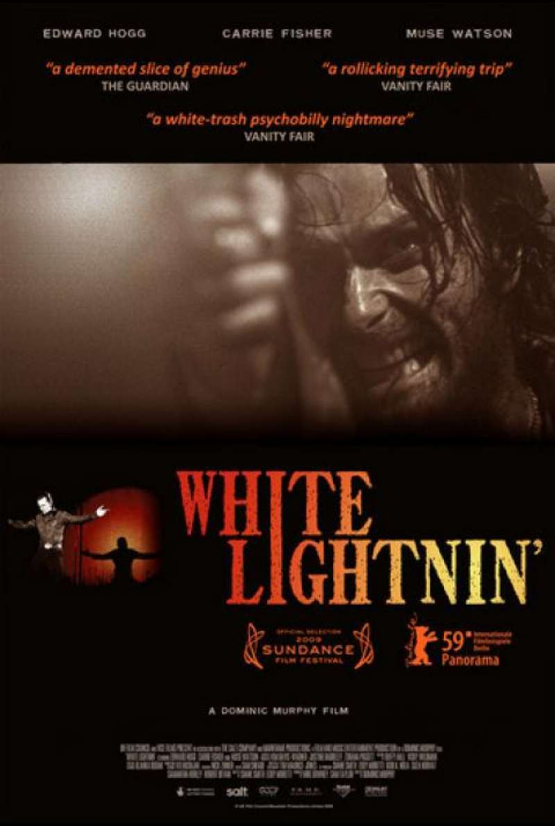 White Lightnin' - Filmplakat (GB)