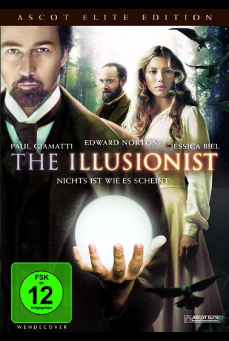 The Illusionist - DVD-Cover