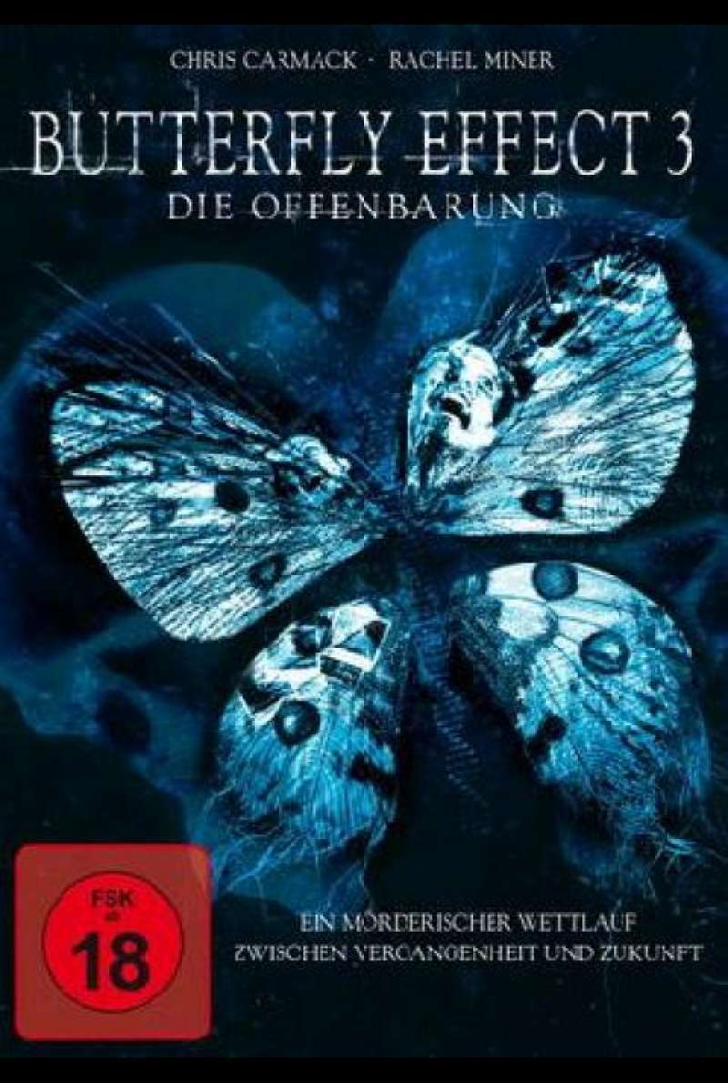 Butterfly Effect 3 - Die Offenbarung - DVD-Cover