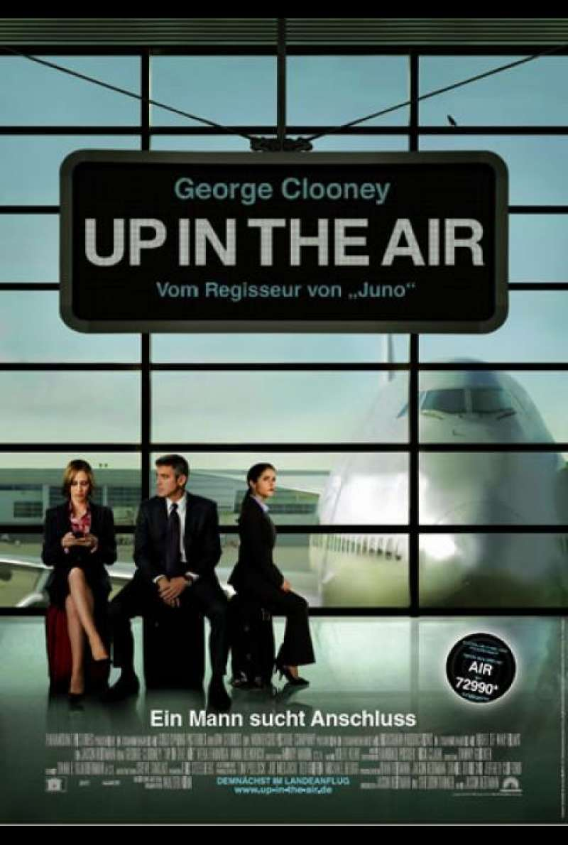 Up In The Air - Filmplakat (DE)