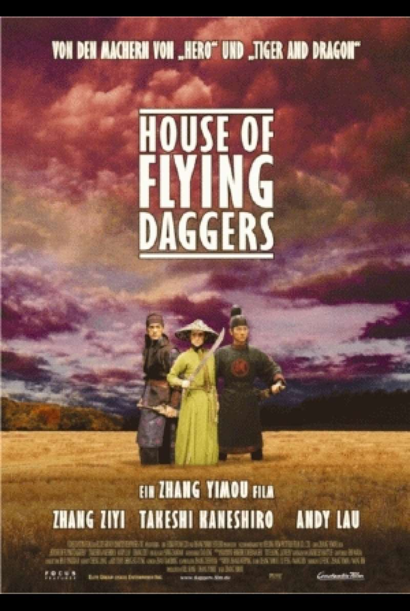House of the Fyling Daggers - Filmplakat