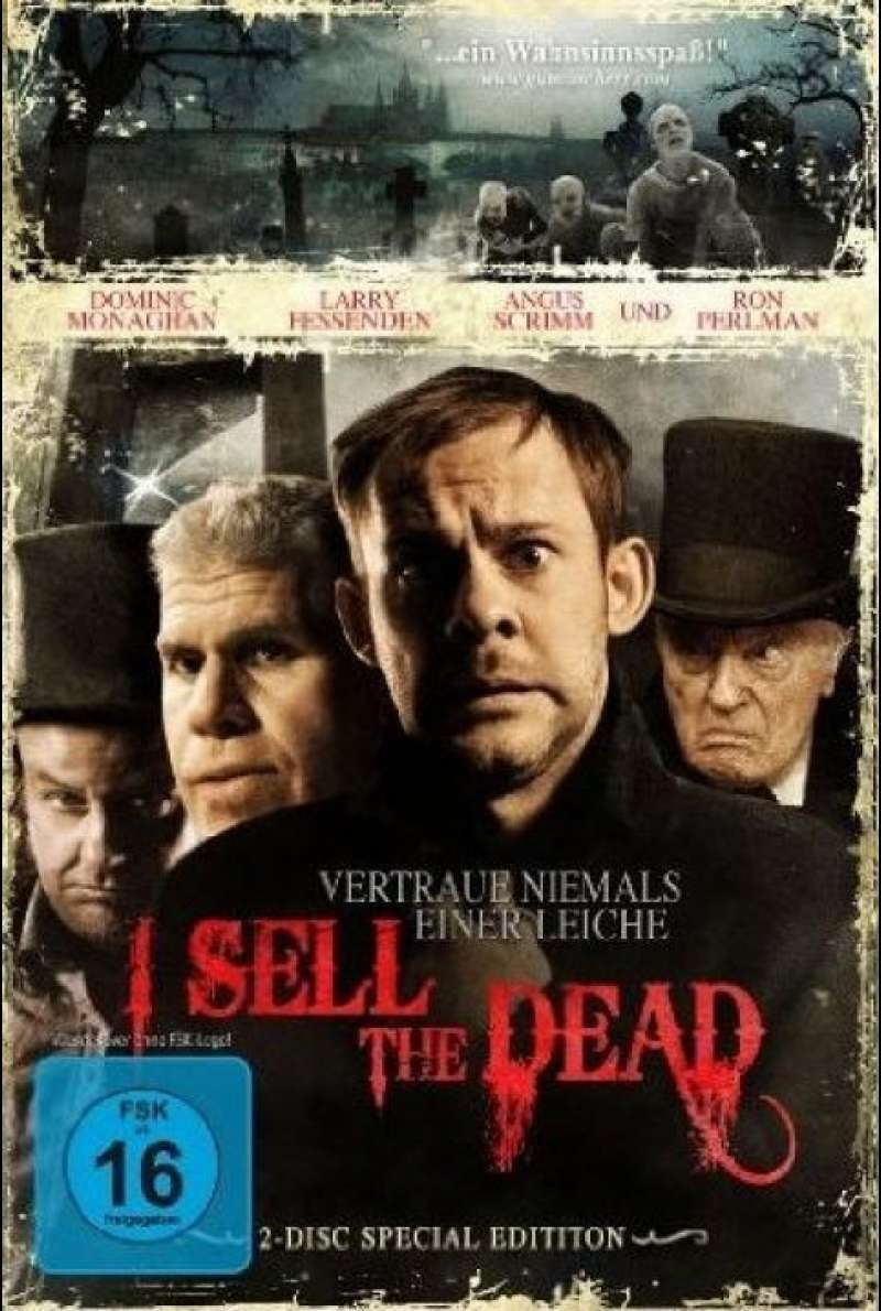 I Sell the Dead - DVD-Cover