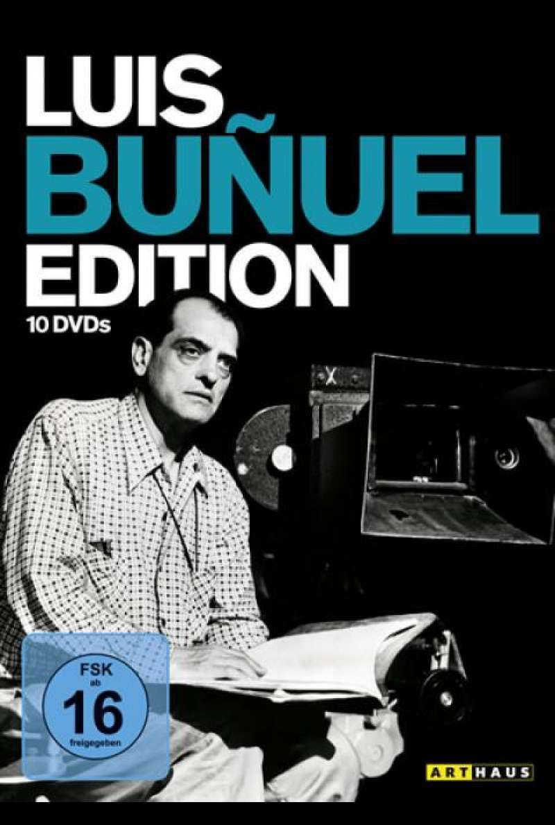 Luis Buñuel Edition - DVD-Cover