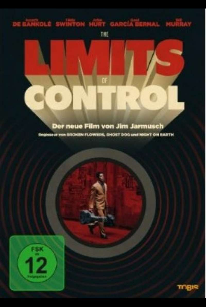 The Limits of Control - DVD-Cover