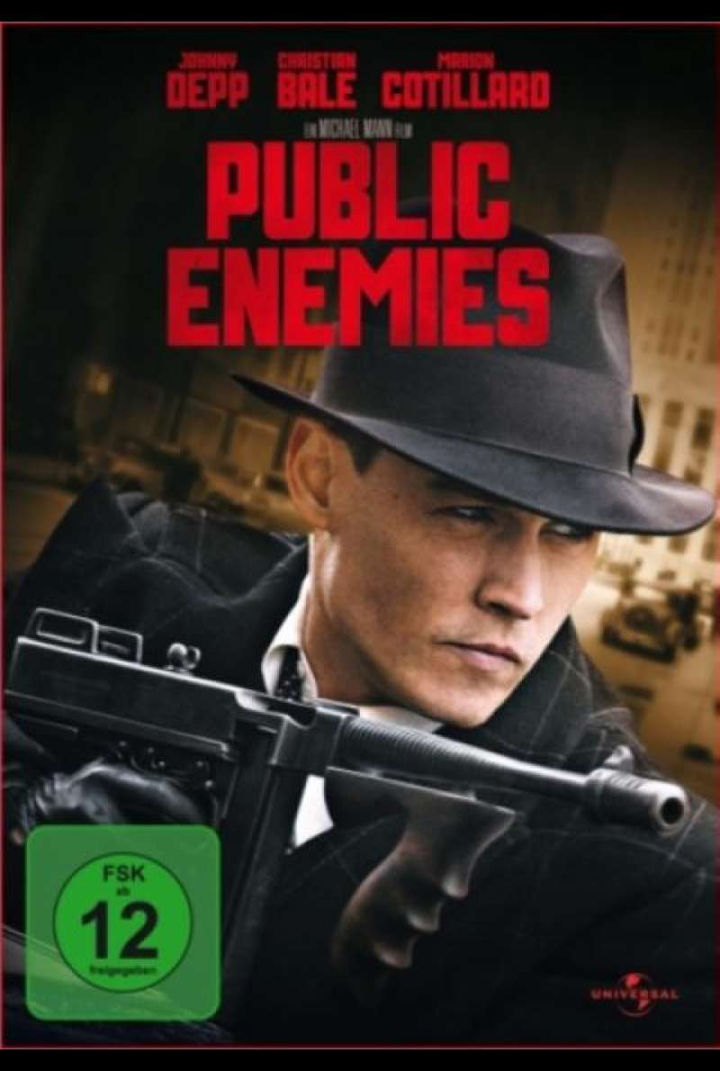 Public Enemies - DVD-Cover