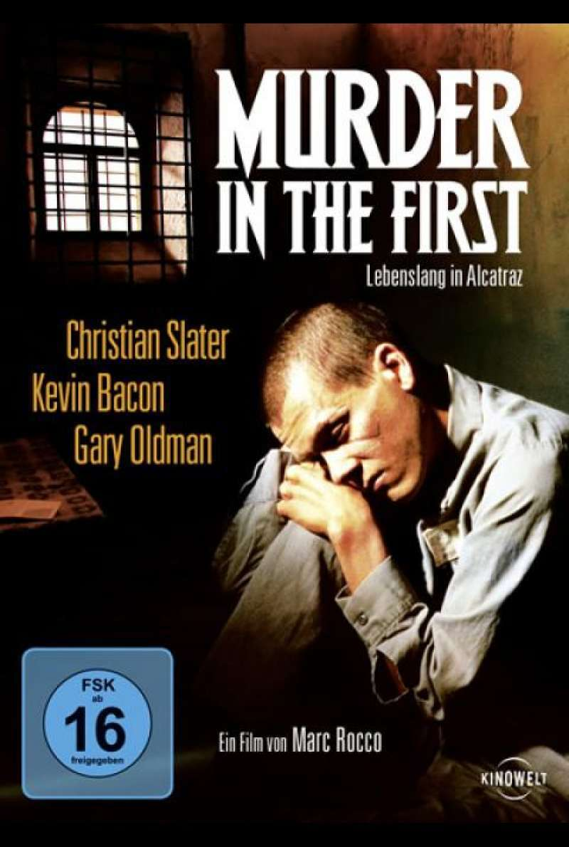 Murder in the First - DVD-Cover
