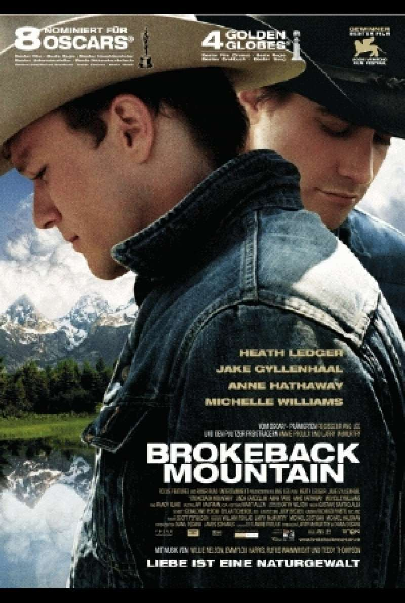 Brokeback Mountain: Filmplakat