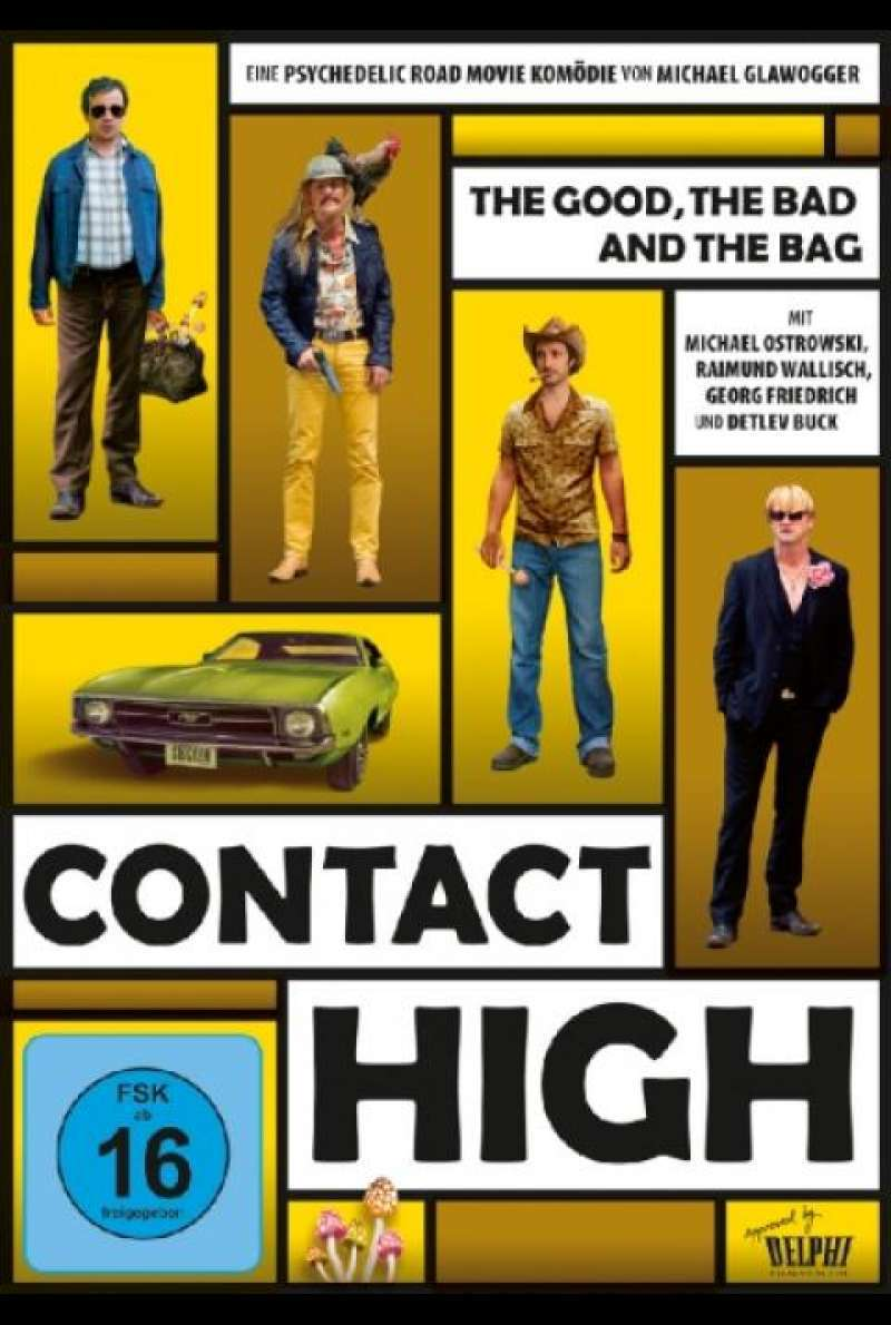 Contact High - DVD-Cover