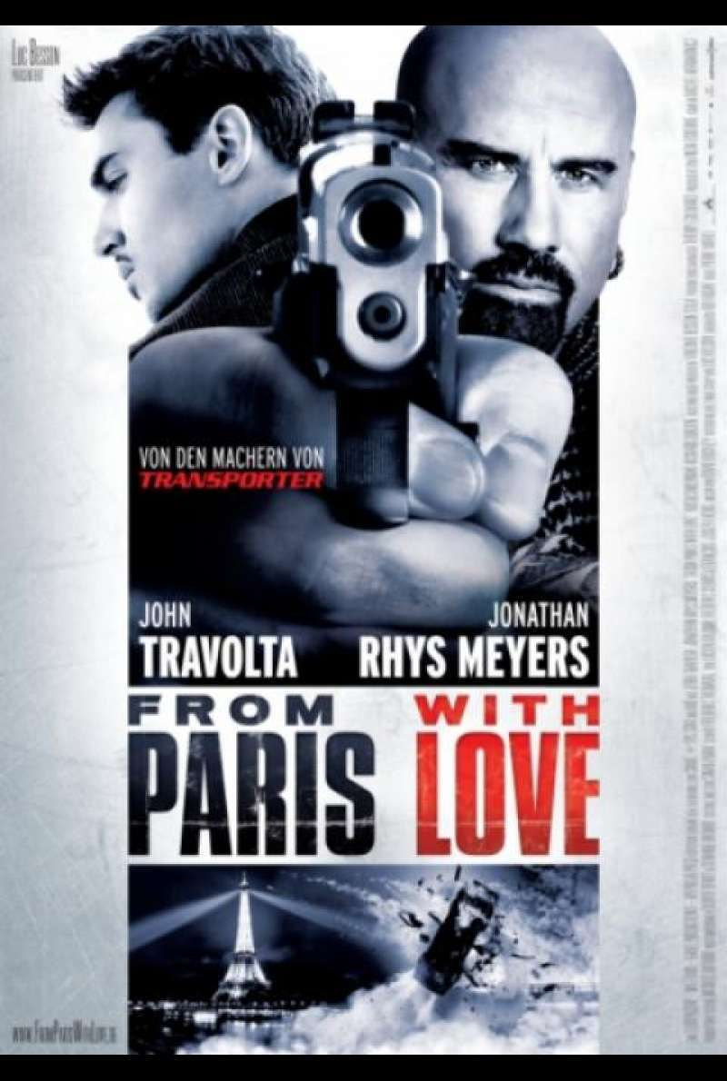 From Paris With Love - Filmplakat (DE)
