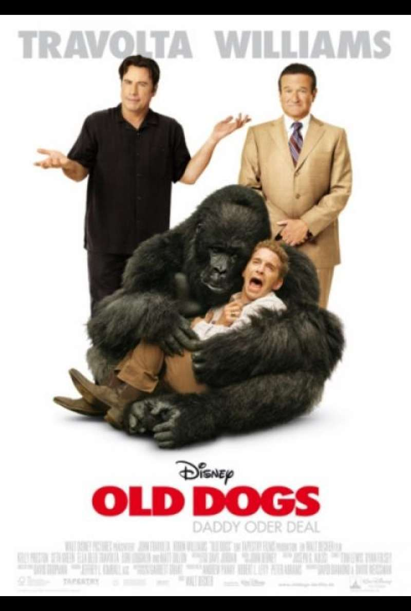 Old Dogs - Daddy oder Deal - Filmplakat