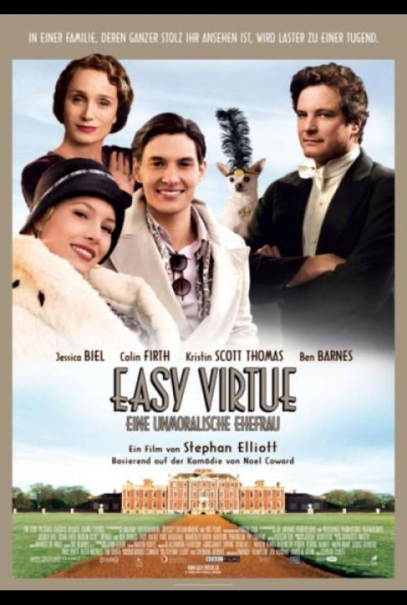Easy Virtue - Filmplakat