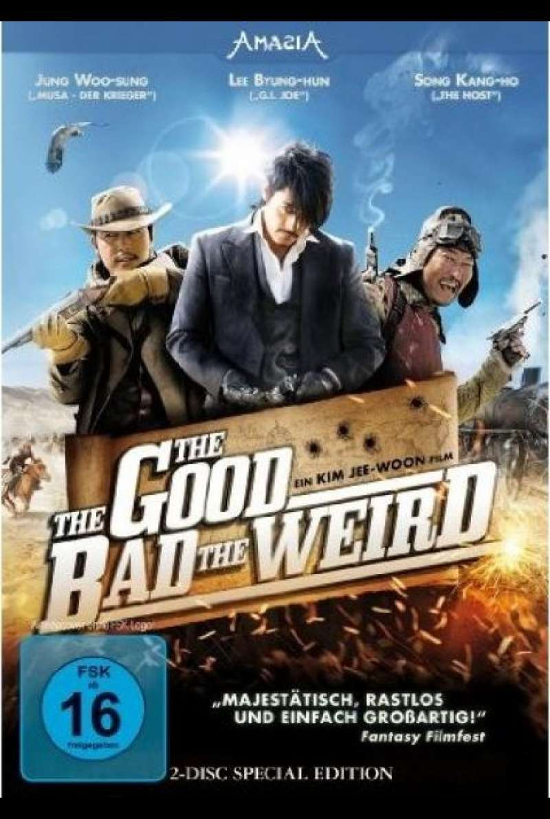 The Good, The Bad, The Weird - DVD-Cover