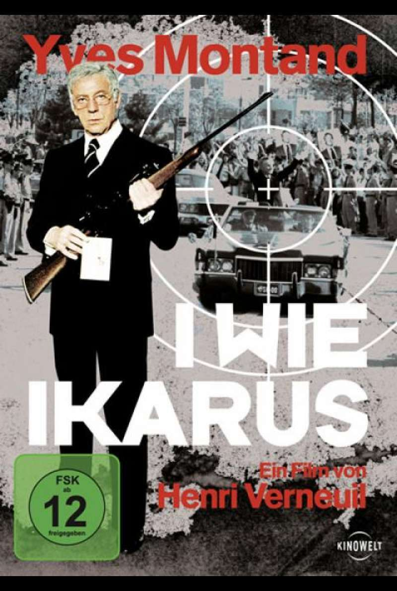 I wie Ikarus - DVD-Cover