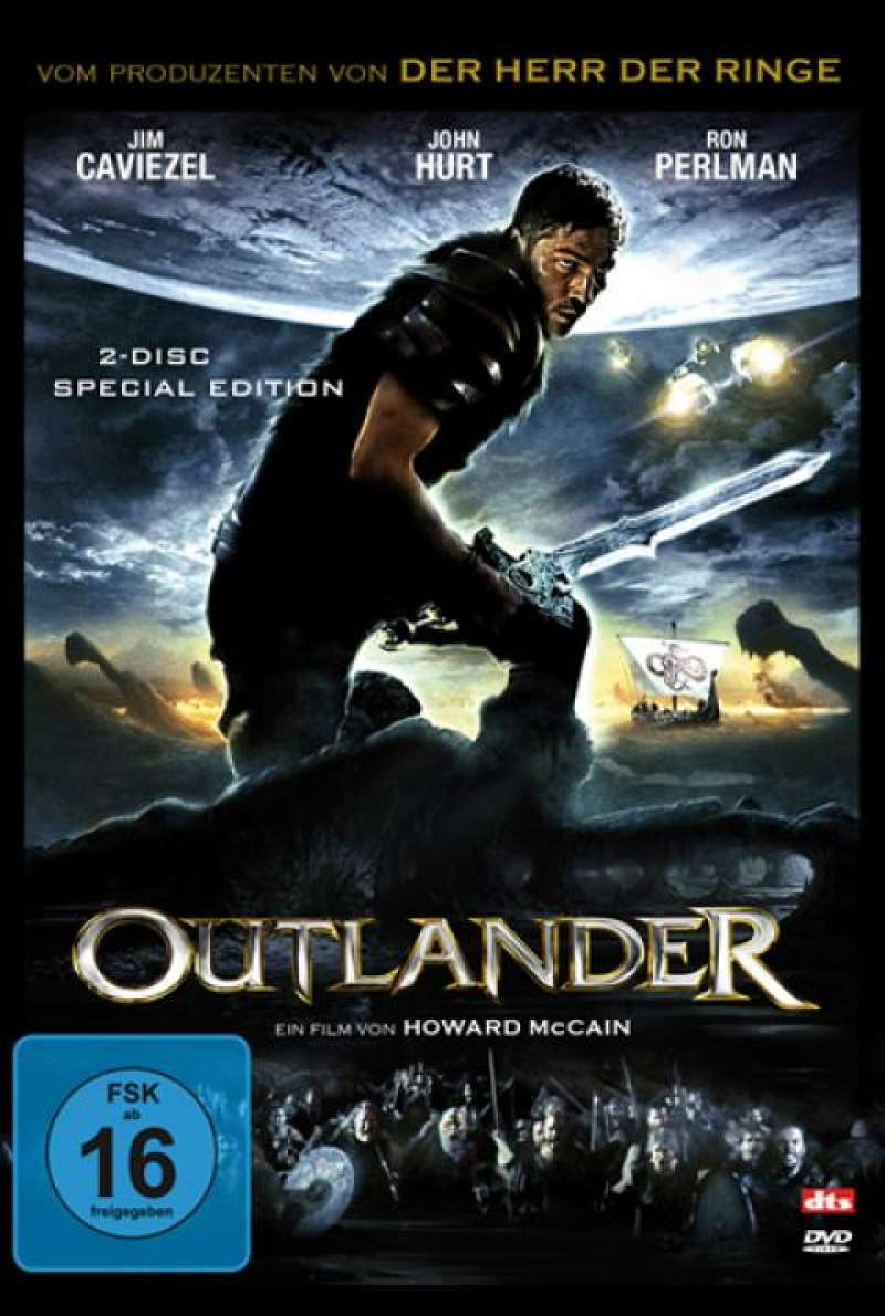 Outlander - DVD-Cover