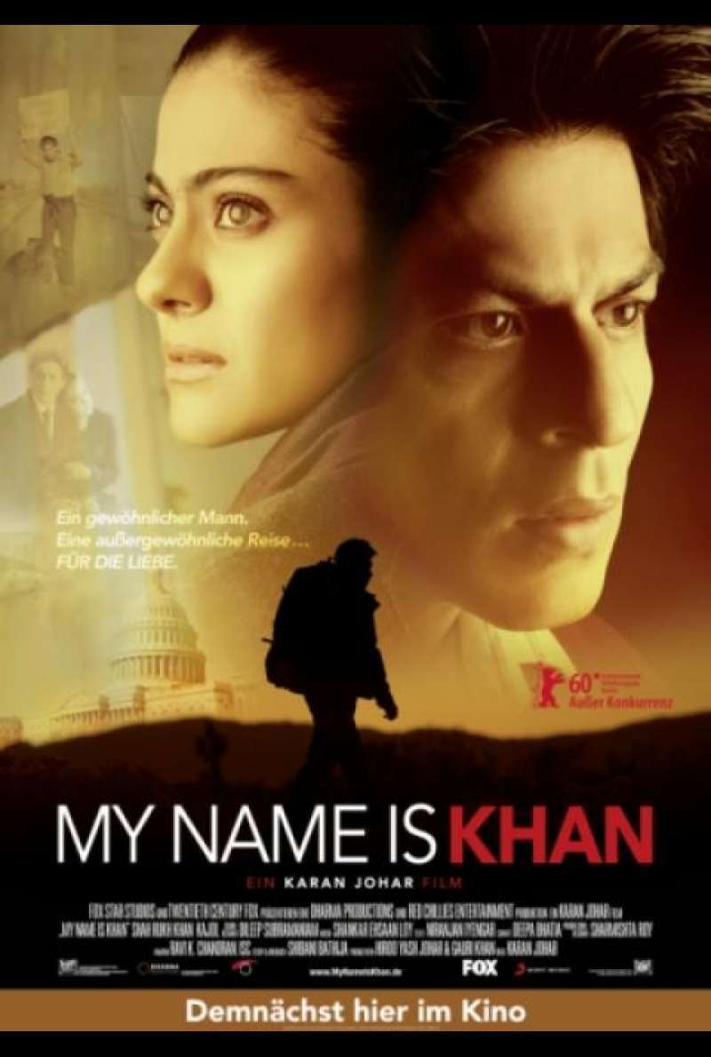 My Name Is Khan - Filmplakat