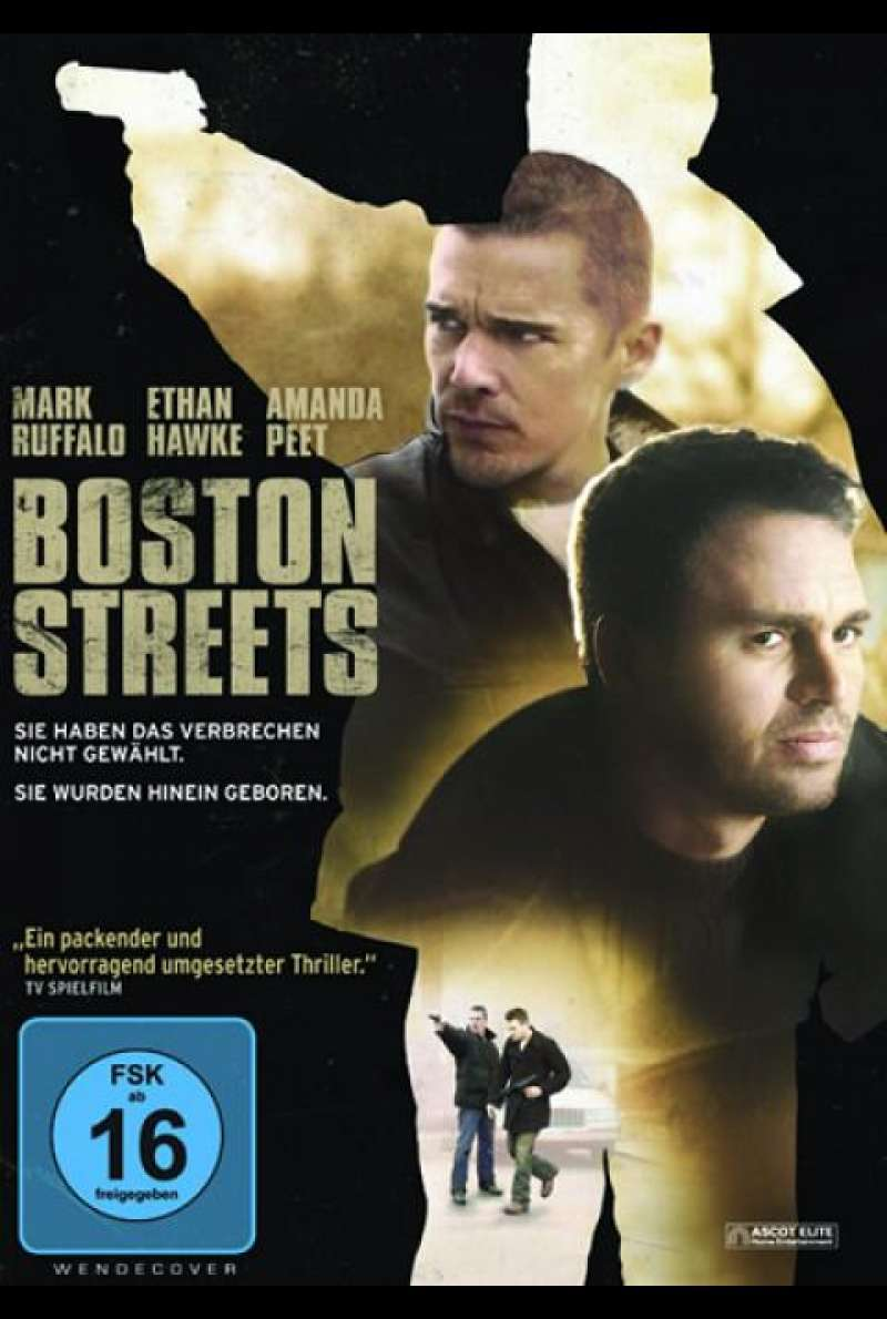 Boston Streets - DVD-Cover